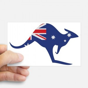 australian_kangaroo_sticker_rectangle