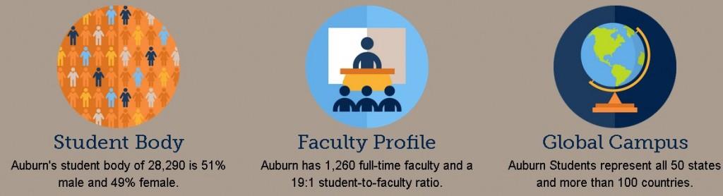 Auburn University statistics