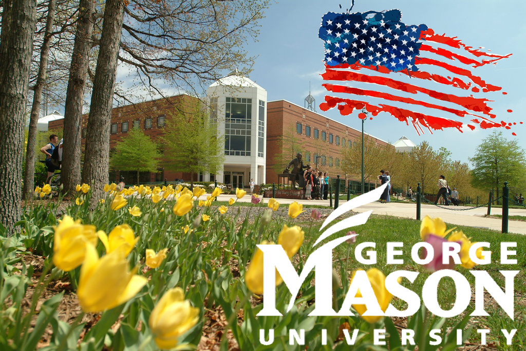 george mason univ summer with logo